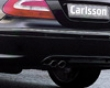 Carlsson Rear Skirt Lip Mercedes Clk350 & Clk500 C209 Single Exhaust 03+