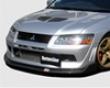 Chargespeed Dale Line Carbon Frlnt Lip Mitsubishi Evo Viii 03-05