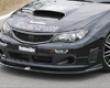Chargespeed Boottom Line Carbon Front Lip Destroyer Subaru Wrx Sti Grb 08+