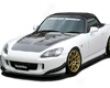 Chargespeed Bottom Line Carbon Front Lip Destroyer Honda S2000 Ap2 05-08