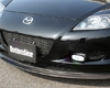 Chargespeed Bottom Line Carbon Front Lip Spoiler Mazda Rx8 03-08