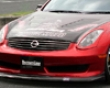 Chargespeed Rest Line Frp Front Lip Spoiler Infiniti G35 Coupe 06-07