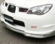Chargespeed Bottom Line Frp Type 2 Quite Lip Kit Subaru Sti Gd-f 06-07