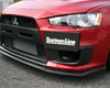 Chargespeed Bottom Line Type 1 Carbon Front Lip Spoiler Mitsubishi Evo X 08+