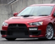 Chargespeed Bottom Line Type 1 Frp Front Lip Spoiler Mitsubishi Evo X 08+