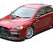 Chargespeed Bottom Line Type 2 Carbon Full Kit Mitsubishi Evo X 08+