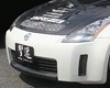 Chargespeed Carbon Center Expose Dam Finisher Cowl Nissan 350z Z33 Zenki 03-05