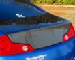 Chargespeed Carbon Rear Trunk Infiniti G35 Coupe 03-07