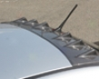 Chargespeed Carbon Roof Fin W/o Antenna Hole Mitsubishi Evo Vii Viii Ix 03-08