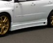 Chargespeed Carbpn Type 2 Side Skirts Subaru Wrx Sti 02-07