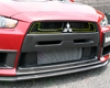 Chargespeed Carbon Upper Inner Grill Mitsubishi Evo X 08+