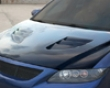 Chargespeed Carbon Vented Engine Hood Mazda 6 03-08