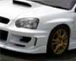 Chargespeed D-1 Front Fenders 20mm W/o Duct Subaru Wrx Sti 02-05