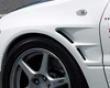 Chargespeed D-1 Widebody Front eFnders 20mm Mitsubishi Evo Vii Viii Ix 03-08