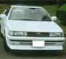Chargespeed Face Spoiler Non-flip Eye Toyota Corolla Levin Ae92 88-89