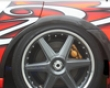 Chargespeed Frp Rear Over Fenders Full Subaru Wrx Sti 02-07