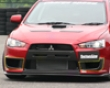 Chargespeed Frp Side Duct Cowl Mitsubishi Evo X 08+