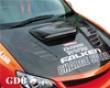 Chargespeed Frp Vented Engine Hood Subaru Wrx Sti Gd-f 06-07