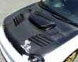Chargespeed Frp Vented Engine Hood Subaru Wrx Gda Bug Eye 02-03