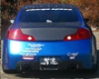 Chargespeed Rear Bumper W/o Diffuser Cowl Infiniti G35 Coupe 03-07