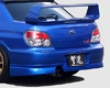 Chargespeed Rear Beneath Spoiler Subaru Wrx Sti 05-07