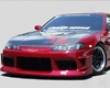 Chargespeed S15 Conversion Front Bumper Nissan 240sx S14 95-98