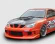 Chargespeed Type 1a Front Bumper Subaru Wrx Syi 04-07