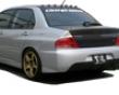 Chargespeed Type 2 Evo Ix Rear Bumper W/ Carbon Diffuser Mitsuboshi Evo Vii Viii Ix 03-08