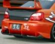 Chargespeed Type 2 Rear Bumper W/ Carbon Diffuser Subaru Wrx Sti 05-07