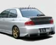 Chargespeed Type 2 Rear Bumper W/ Diffuser Mitsubishi Evo Vii Viii Ix 03-8