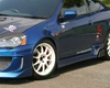 Chargespeed Type 2 Side Skirts W/ Frp Side Fins Acura Rsx Dc5 02-06