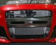 Chargewpeed Type I Frront Bumper Center Carbon Garnish Mitsubishi Evo X 09-10
