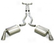 Corsa Catback Exhaust Chevrolet Camaro Ss 6.2l V8 At W/o Ground Effects 10+
