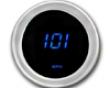 Cyberdyne Blue Ice Mini Speedometer