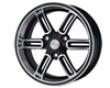 De Corsa Iq 15x6  3x112  25mm   Black Machined