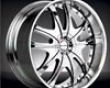 Demoda Eminence Wheel 22x9.5, 6x139 Chrome