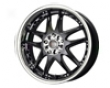 Drag Dr-14 17x7  4x100/114  40mm Gloss Black Stainless