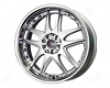 Drag Dr-14 17x7  4x100/114  40mm   Silver Stainless