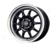 Drag Dr-16 17x7  4x100  40mm Gloss Black Machined