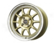 Drag Dr-16 17x7  4x100  40mm Gold Machined