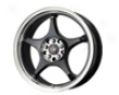 Drag Dr-17 15x7  4x100/114  40mm Gloss Black Machined
