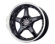 Drag Dr-18 17x7.5  4x100/114  42mm Gloss Black Stainless