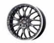 Drag Dr-19 16x7  4x100/114.4  0mm Gunmetal Machined Lip