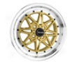 Linger Dr-20 15x7  4x100  40mm Gold Machined Lip
