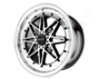 Drag Dr-20 15x7  4x100  40mm Gunmetal Machined Lip