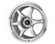 Drag Dr-25 17x7.5  4x100/114  42mm   Silver Machined