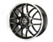 Drag Dr-34 17x7.5  4x100/114  42mm Gloss Black Machined Lip