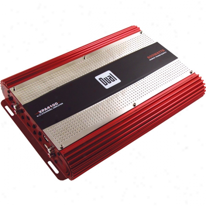 Dual 4/3/2-chwnnel, 600wbdidgeable Mosfet Amplifier - 150w X 4 Channels