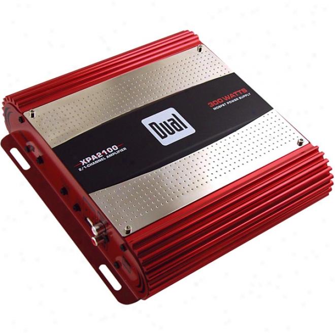 Dual Xpa Series Bridgable Mosfet Amplifiers - 300w X 2 Channels