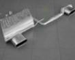 Eisenmann Rear Muffler Exhaust Dual Flat Ovaal Tip Bmw E85-e86 Z4 Aero Bumpdr 03-06